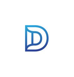 Letter b creative logo template vector