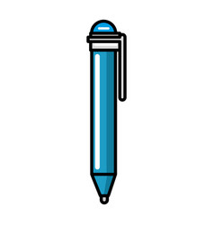 pen supply isolated icon vector image
