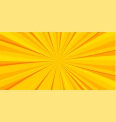 Pop art yellow comics book cartoon cover vector