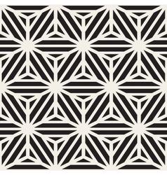 Seamless Cube Shape Stripe Lines Geometric vector image