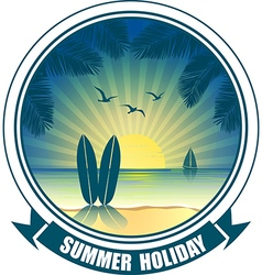 summer banners3 vector image