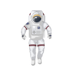 modern space suit isolated icon vector image