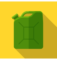 Colorful canister icon in modern flat style with vector image vector image