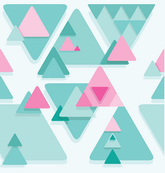 abstract seamless geometrical background vector image