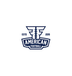 american footbal vector image