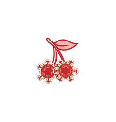 Cherry fruit coronavirus vector