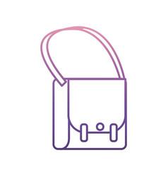 hand bag icon vector image