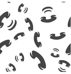 Phone seamless pattern vector