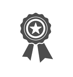 Best first prize medal icon vector image vector image