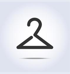 hanger icon in vector image