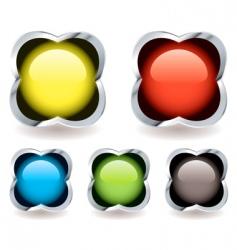 gel marble icon vector image