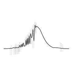 audio equalizer radio icon simple black style vector image