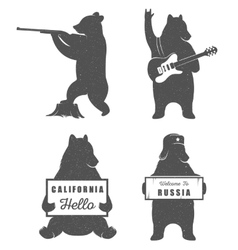 Bears Sign vector