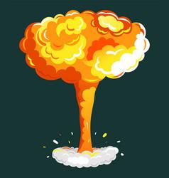 bonfire dynamite game animation element vector image