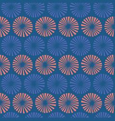 circular repeat pattern perfect vector image