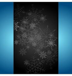 Dark abstract Christmas background vector image