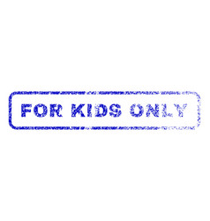 For kids only rubber stamp vector