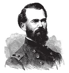 general james b mcpherson vintage vector image