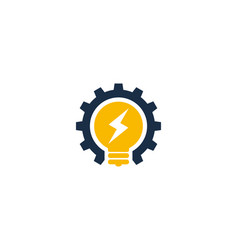 Idea power logo icon design vector