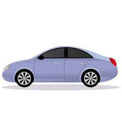 Liftback car body type vector