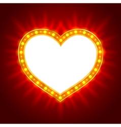 Light heart vector