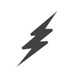 lightning bolt royalty free vector image vectorstock rh vectorstock com realistic lightning bolt vector lighting bolt vector free