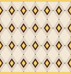 seamless color pattern geometric background vector image