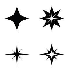 spark icon set vector image