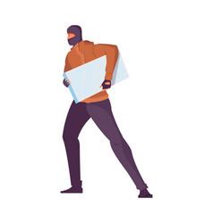 thief flat icon vector image