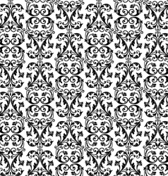 seamless rich background in Renaissance style vector image vector image