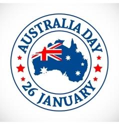 Australia Day Background vector image