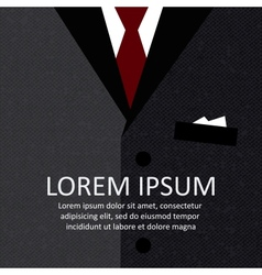 Business suit background vector