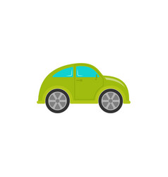 car batoy in flat design cartoon vector image