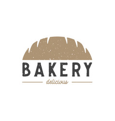 chocolate bakery logo design inspiration vector image