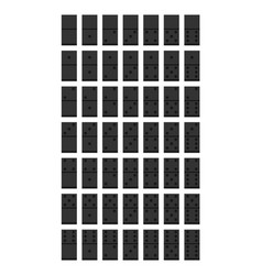 Domino flat style design - vector