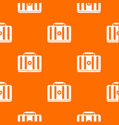 First aid kit pattern seamless vector