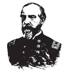 general george g meade vintage vector image