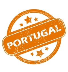 Portugal grunge icon vector image
