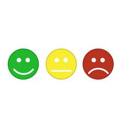 Smiley emoticons icon vector