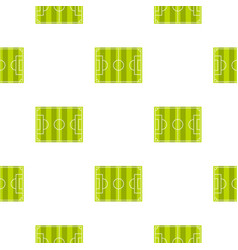 soccer field pattern seamless vector image