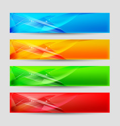 Web panels form an abstract background vector