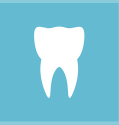 tooth logo and icon vector image