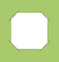 Photo frame corners vector