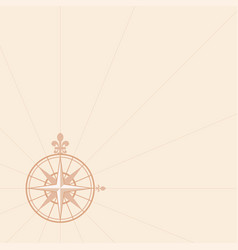 ancient wind rose vector image