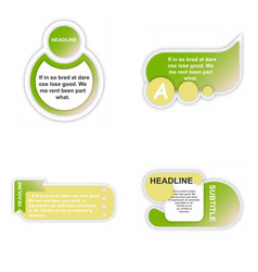 Business infografic template presentation vector