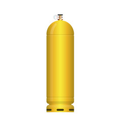 Gas tank isolated on white background vector