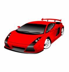 Lamborghini Gallardo vector image