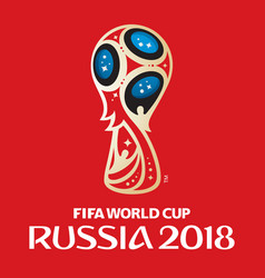 russia world cup 2018 vector image