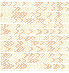 Seamless pattern with ikat ribs in beige vector