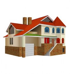 private residence vector image